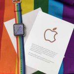 Apple Watchのバンドを限定配布、こういう使い方もあるんだな