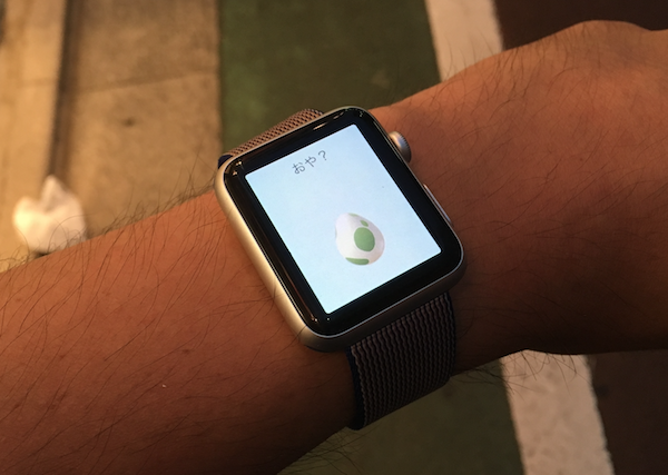 ポケモンGO Apple Watch