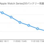 Apple Watch Series2のバッテリー持続時間は大幅に改善、第一世代比1.5倍に