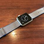 Apple Watchのウーブンナイロンバンドは汚れる