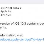 iOS10.3 来週前半にも正式版リリースへ
