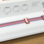 Apple Watchの新バンド(オレンジウーブンナイロン)購入 かなり明るい色合い