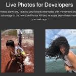 iPhoneで撮影したLive Photos(動く写真)がWebブラウザでの表示にも対応