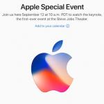 9月12日にスペシャルイベント開催 Appleが正式に告知