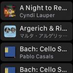 watchOS 4.1でようやくApple Musicが利用可能に