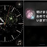 2018年 元旦、Apple Watchも花火でお祝い